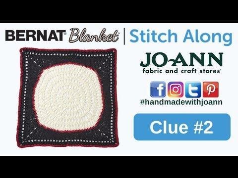 Bernat Blanket Stitch Along: Week 2 - YouTube | Blanket/Afghan ...