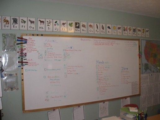 Homemade Dry Erase Board. OMG This Is The Best Idea Ever For Getting  Organized In