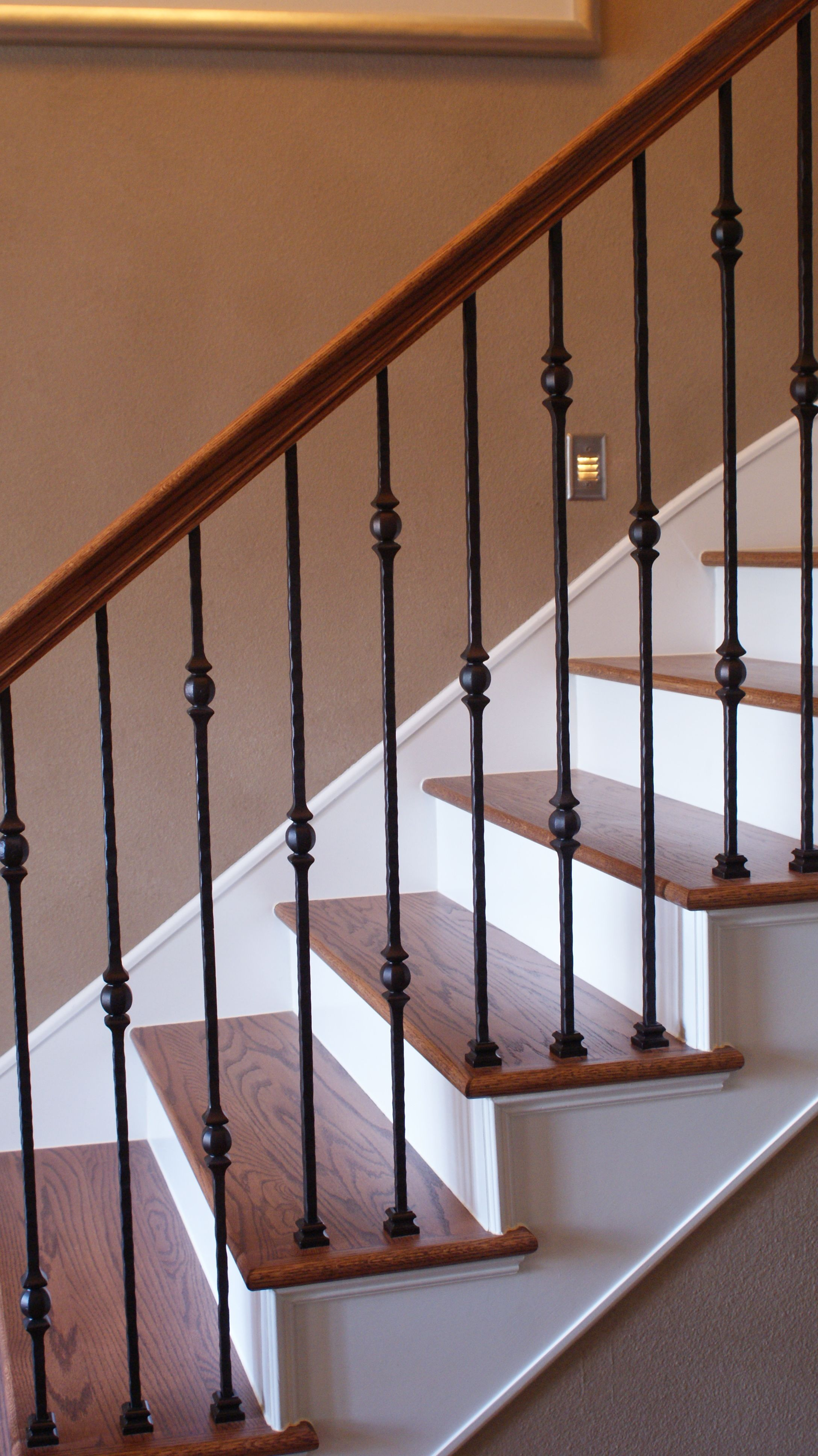 The Stella Journey Residence Metal Stair Railing Stair Remodel Wrought Iron Stair Railing