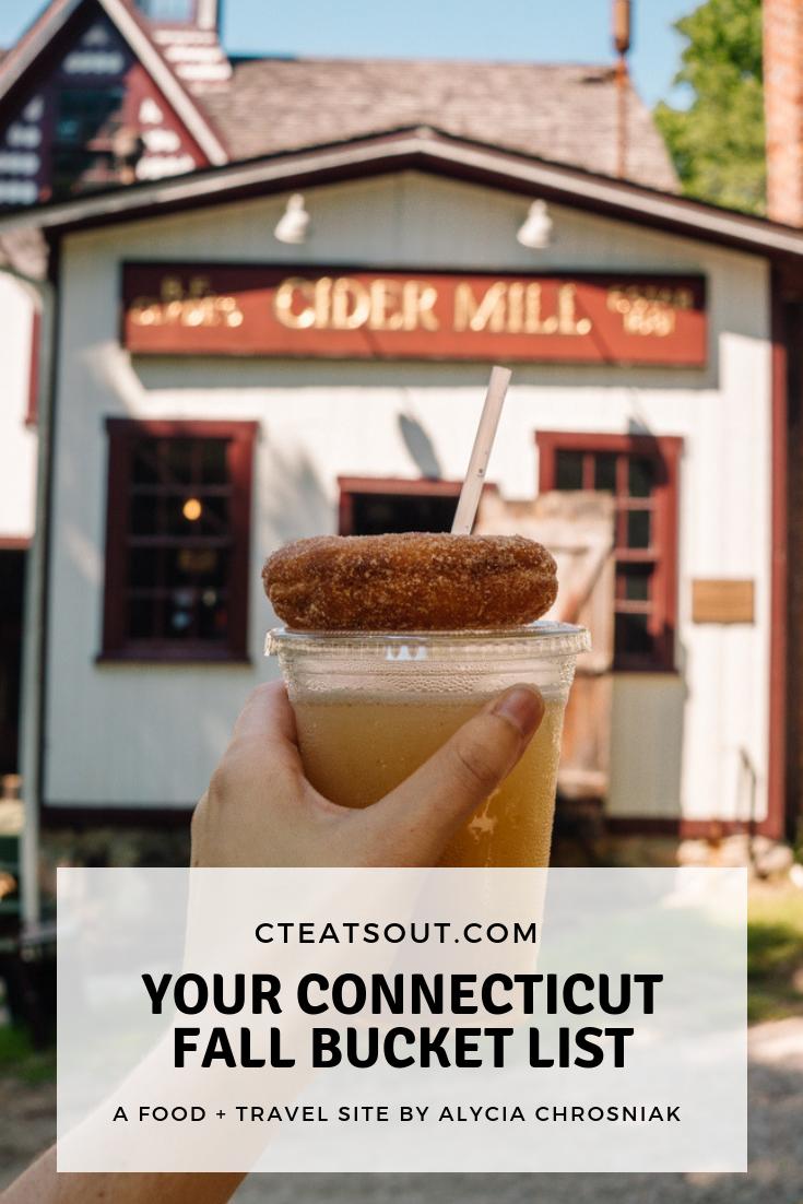 Your Connecticut Fall Bucket List — CT Eats Out #fallbucketlist