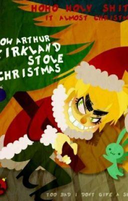 how arthur stole christmas | hetalia, hetalia funny