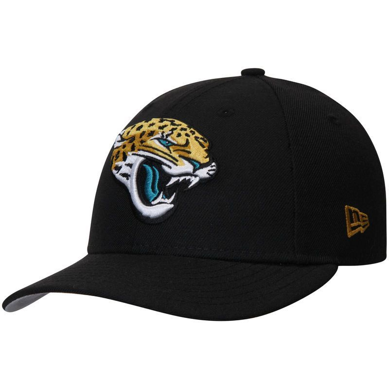 0083a27fd20 Jacksonville Jaguars New Era Omaha Low Profile 59FIFTY Structured Hat -  Black