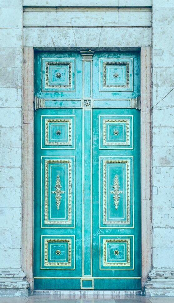 Beautiful Turquoise Door  sc 1 st  Pinterest & Beautiful Turquoise Door | TURQUOISE | Pinterest | Turquoise door ...