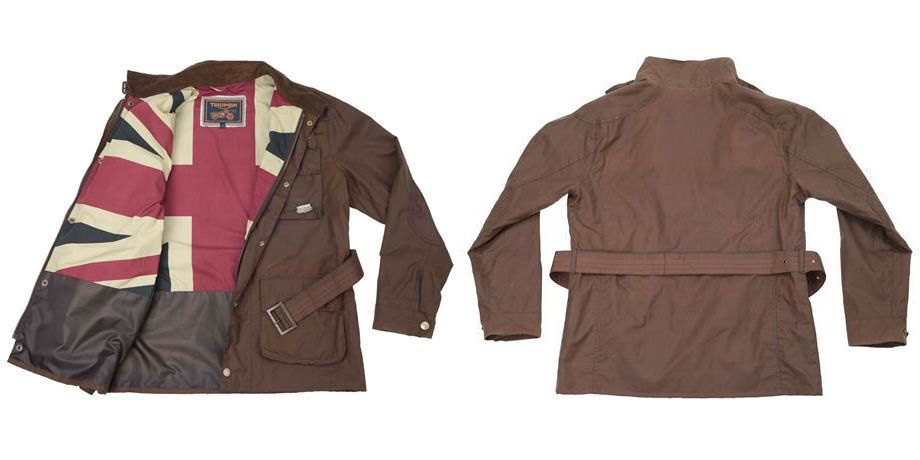 Triumph Waxed Cotton Motorcycle Jackets
