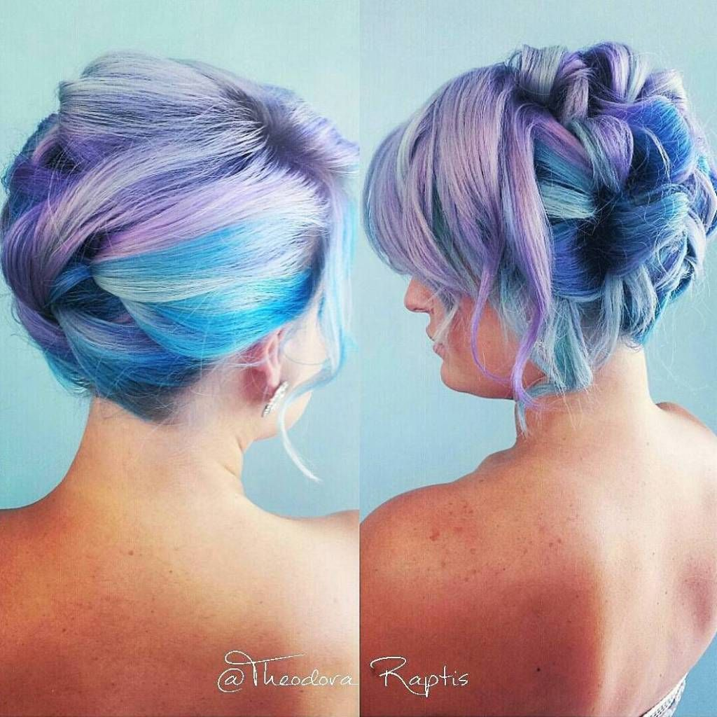 cotton candy hairstyles that are as sweet as can be candy floss