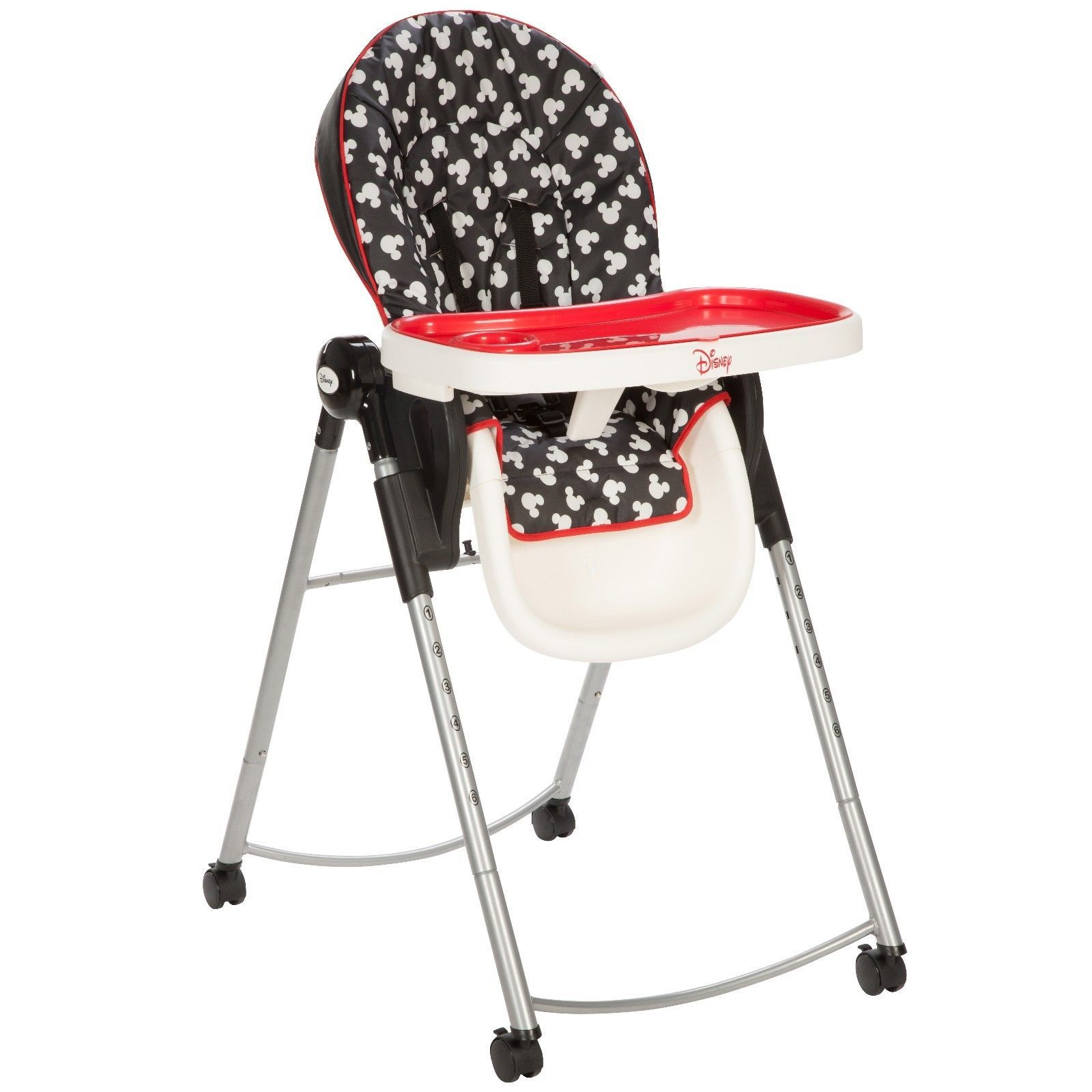 Mickey Mouse Adjustable Feeding High Chair Newborn Infant Toddler