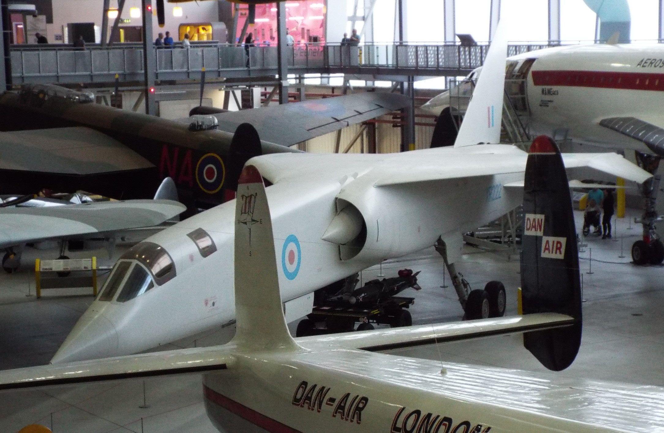 Hawker Siddeley TSR2 Imperial War Museum Duxford