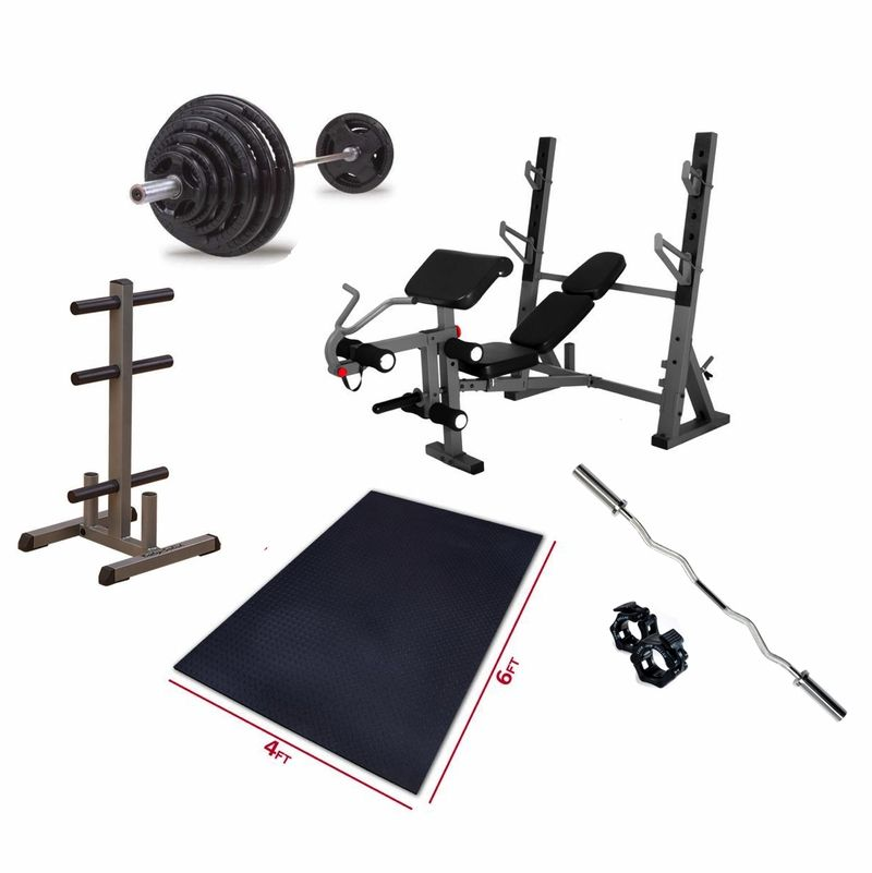 Premium Olympic Bench Press Package Bench Press Olympic Weight Set Weight Benches