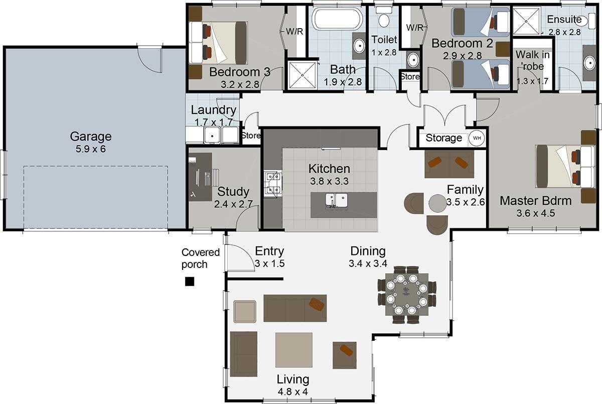 3 bedroom house plans nz