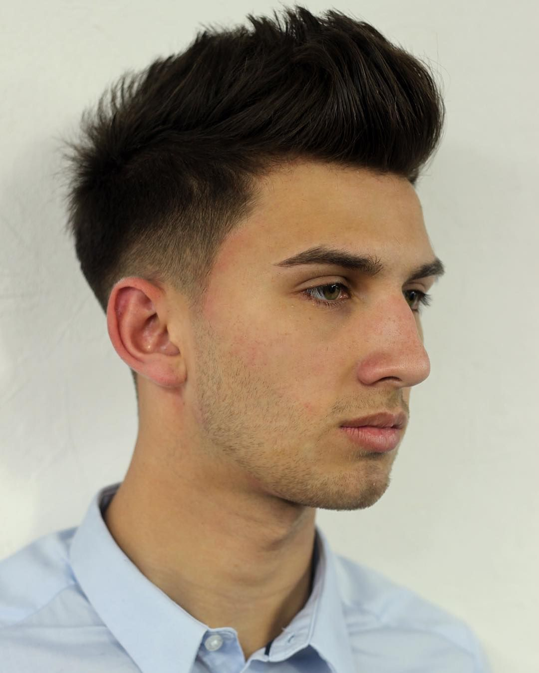 Mens faded haircut cool  stunning menus haircuts for thin hair u styles that fit your