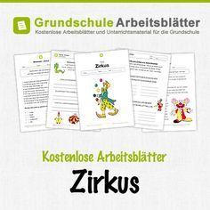 Kostenlose Arbeitsblätter und Unterrichtsmaterial zum Thema Zirkus ...