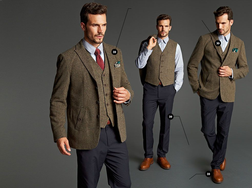 e72003ac9997 tweed and chinos - Google Search | TES | Tweed blazer outfit, Tweed ...
