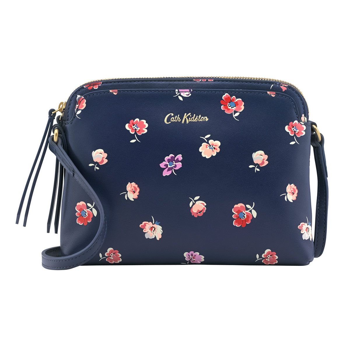 0903b5e835 Mallory Sprig Printed Leather Duo Cross Body