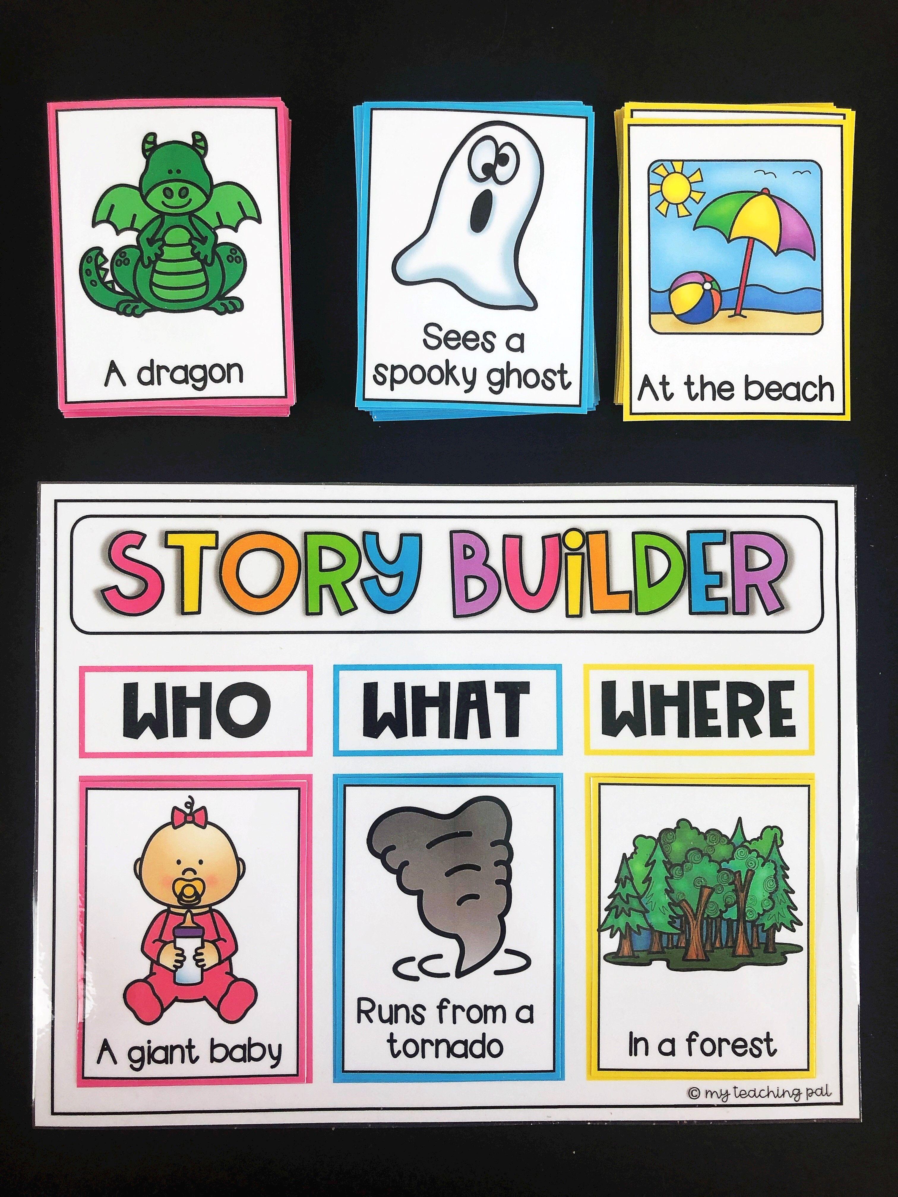 Story Builder Writing Center Story Builder Writing Center Kindergarten Writing [ 4032 x 3024 Pixel ]