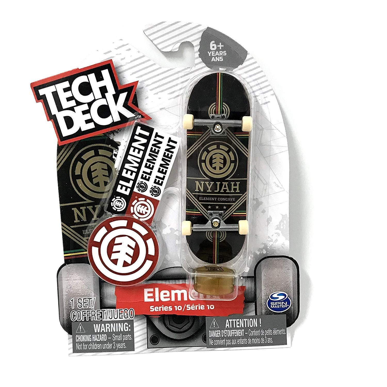 Tech Deck Element Nyjah Element Concave Fingerboard