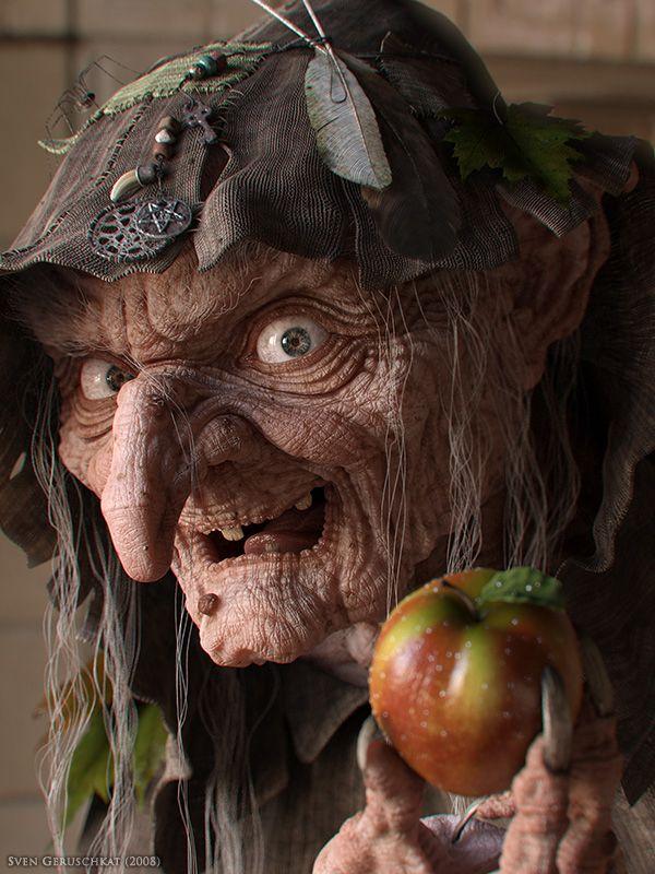 Witch by Sven Geruschkat