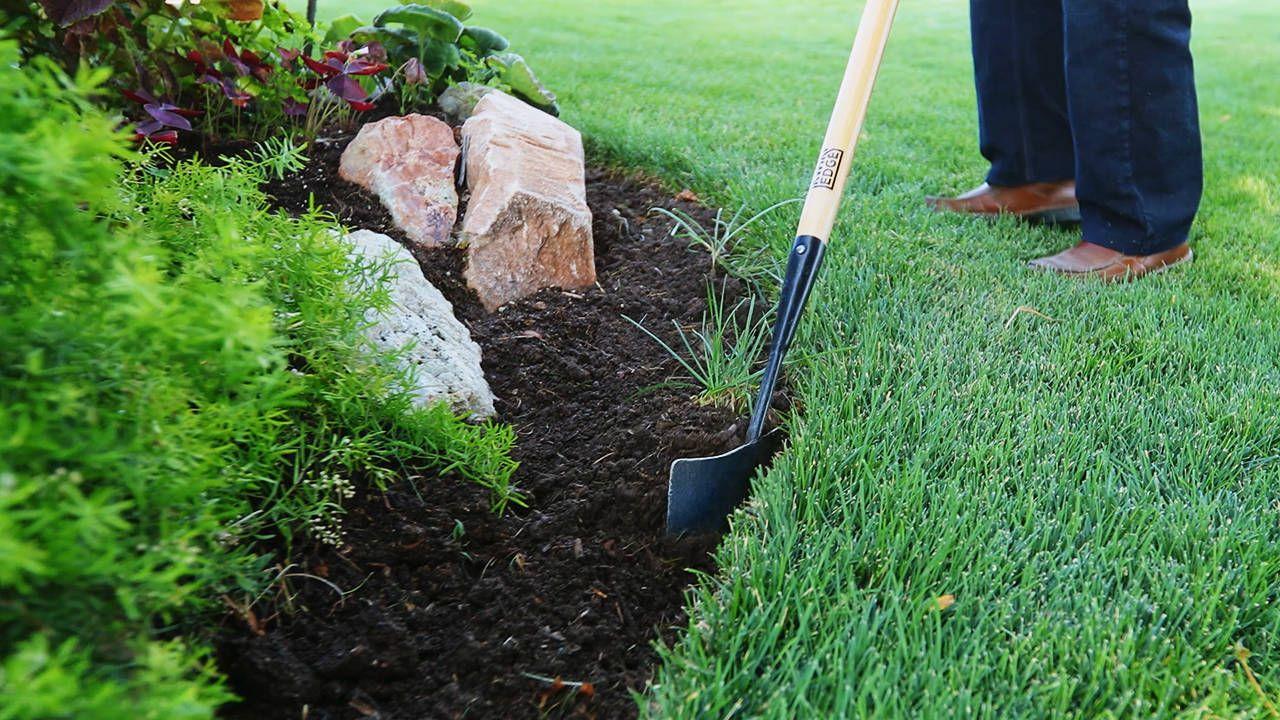 Manual Lawn Edger Tool By Kwik Edge Garden Landscape Garden