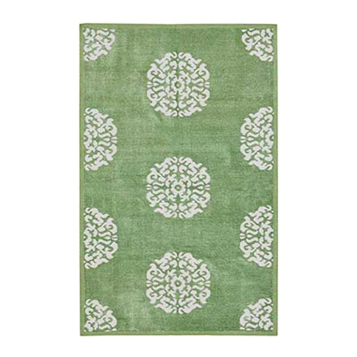 Apple Mandala Chenille Metallic Carpet Madeline Weinrib Patterned Bathroom Rugs Green Bathroom Rugs Lime Green Bathroom Rugs