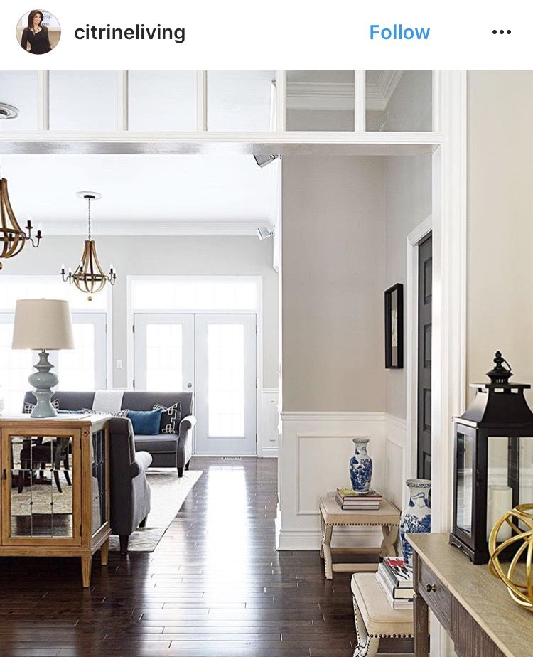 Benjamin Moore Colors For Your Living Room Decor: Collingwood- Benjamin Moore