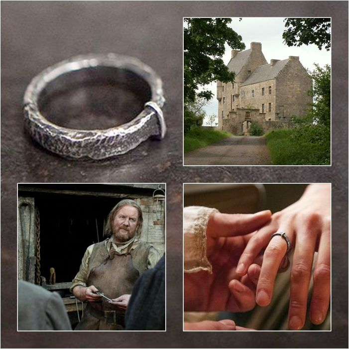 Claires wedding ring the key to Lallybroch Outlander S1bE9