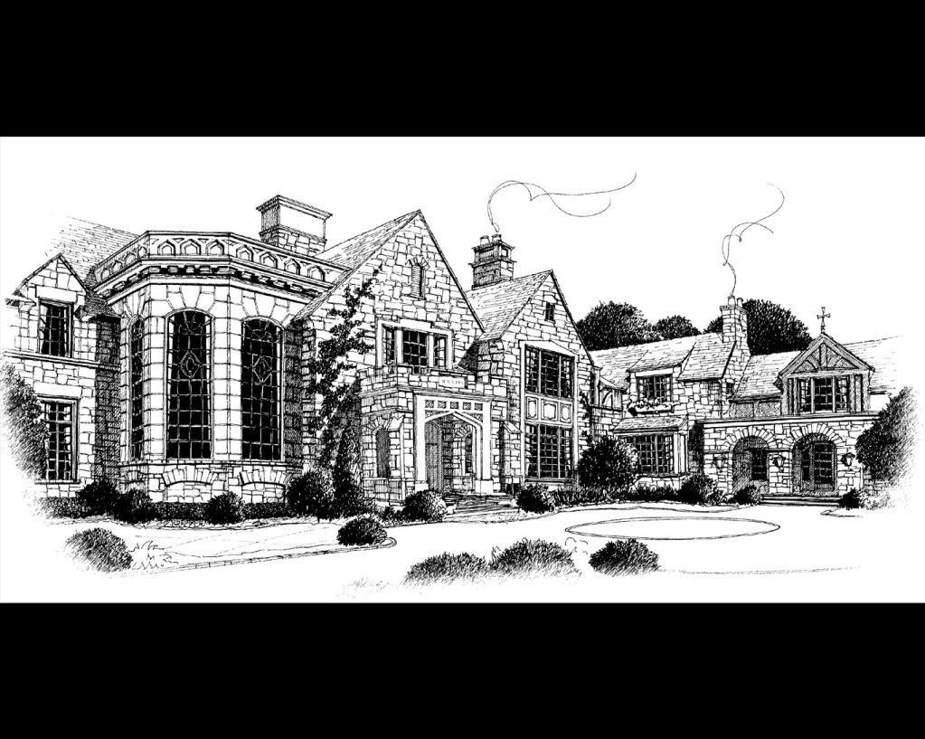 Stephen Fuller Designs - Old World Mountain Estate Drawings | For ...