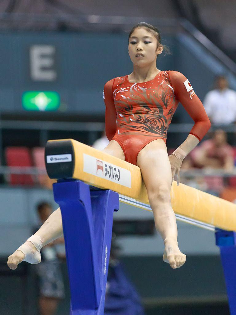日本 女子 体操 エロ Yuki Uchiyama 内山 由綺 (JPN)