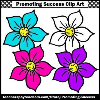 flower clip art commercial use sps summer school activities rh pinterest com  school summer holidays clipart