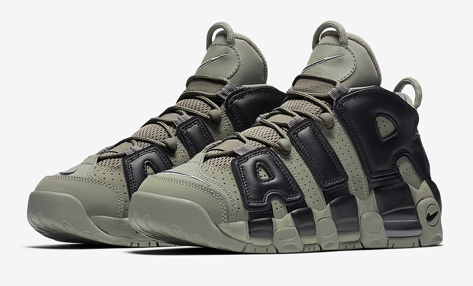 new styles 0fdd1 fae5a The Nike Air More Uptempo Dark Stucco edition is featured in its official  imagery and it s dropping this Fall 2017.