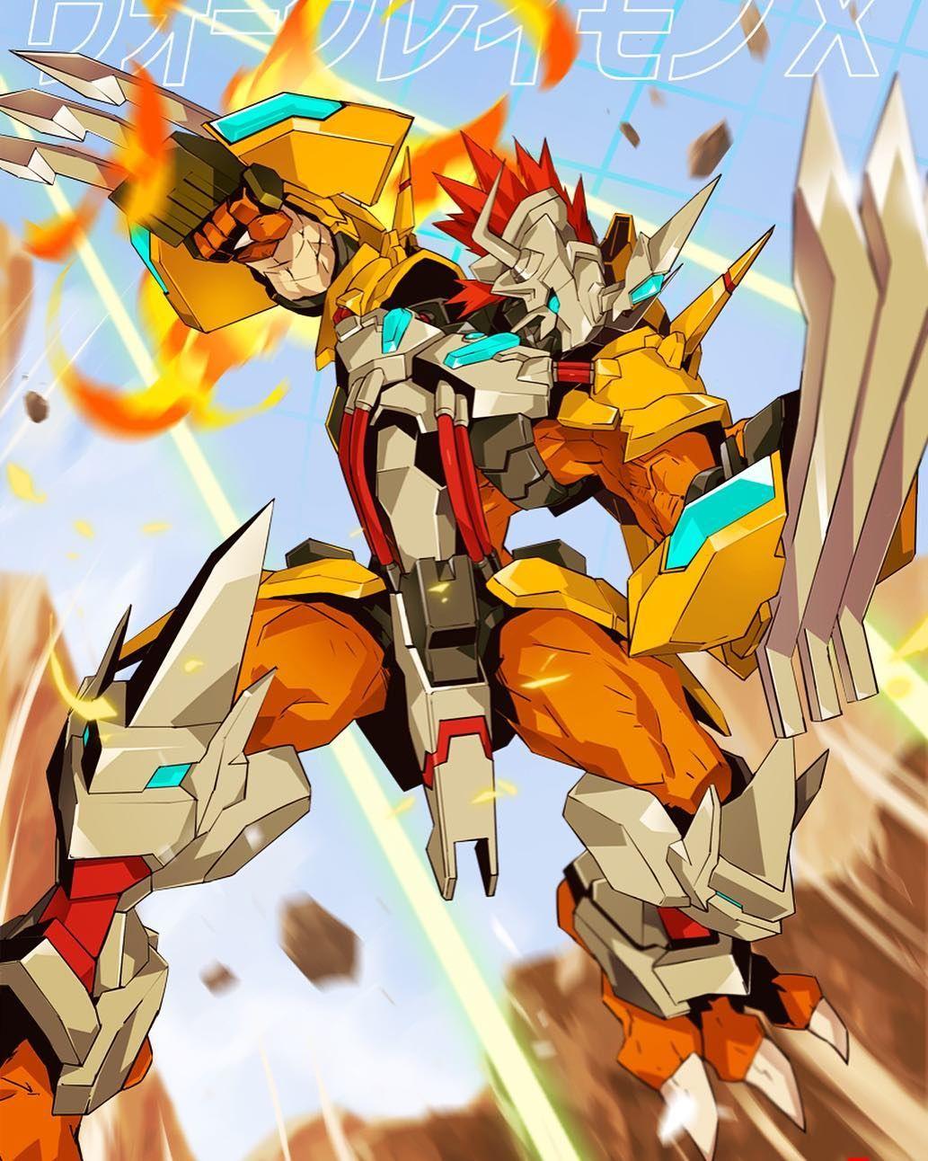 WarGreymon X-Antibody!! . . . - Crédito | Digimon ...
