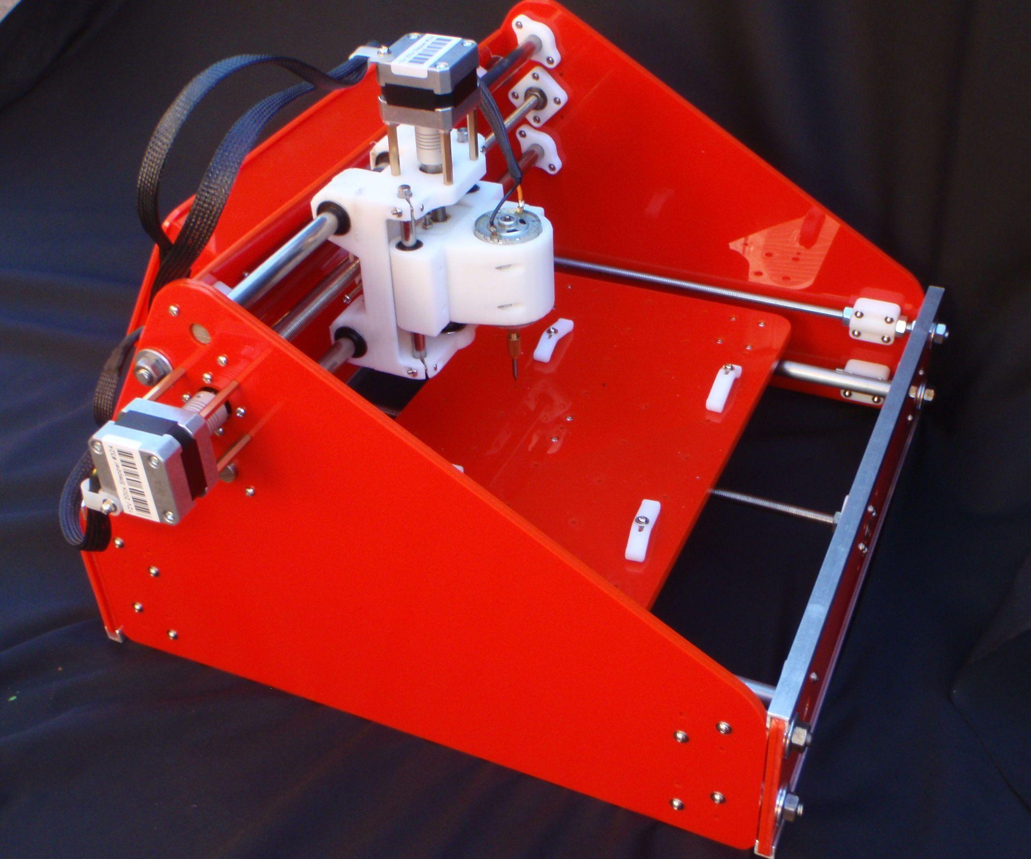 3D Printed CNC Mill Desktop cnc, Diy cnc router, Cnc