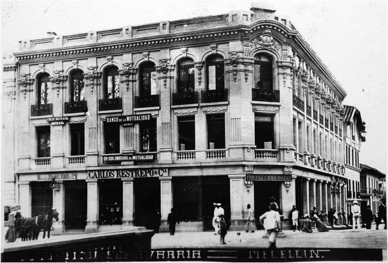 Medellin, Colombia 1920 Edificio Echavarria | Historia de colombia ...