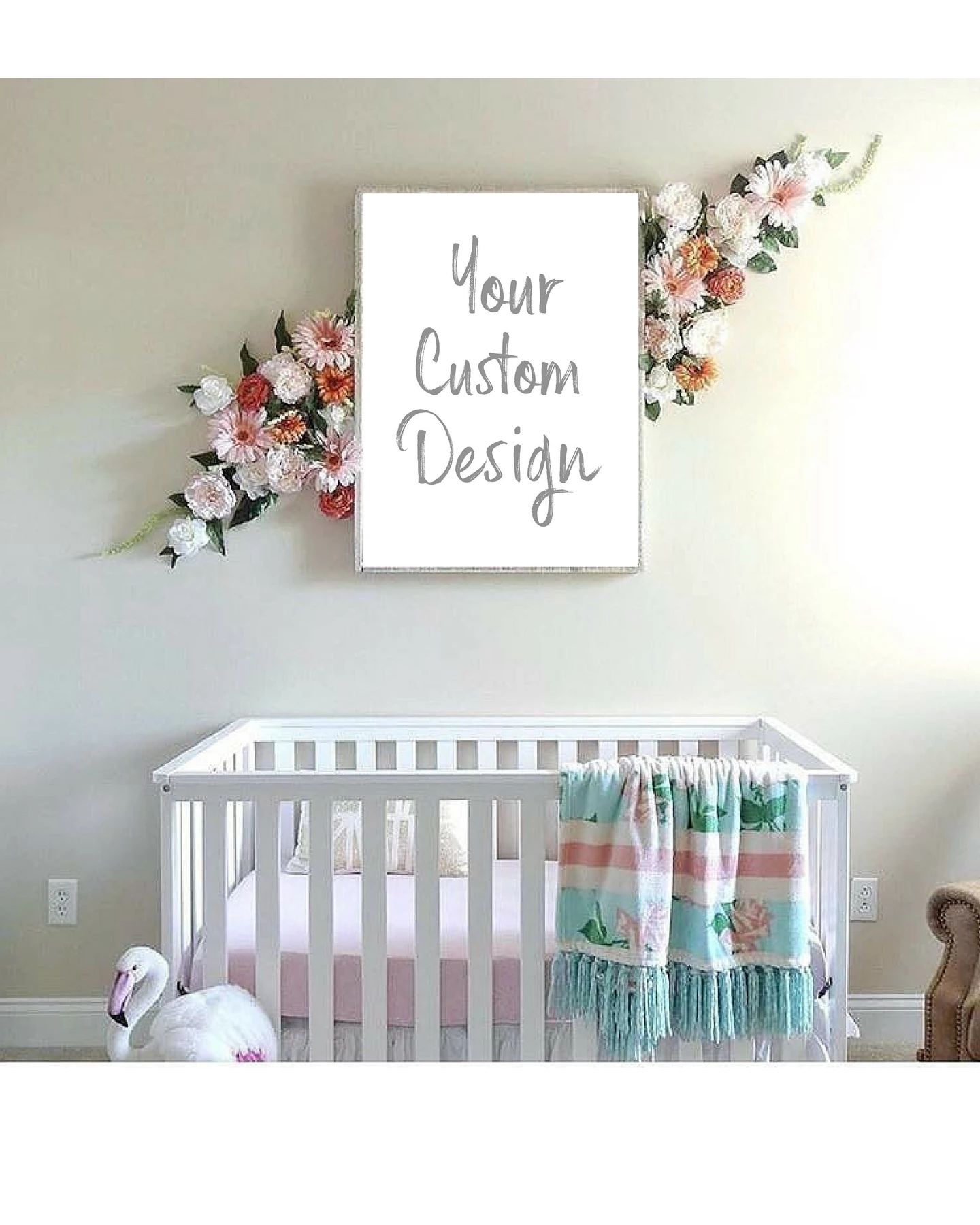 Baby Nursery Wall Art Print Custom Personalized 16x20 Baby Nursery Wall Art Baby Room Wall Decor Baby Room Art