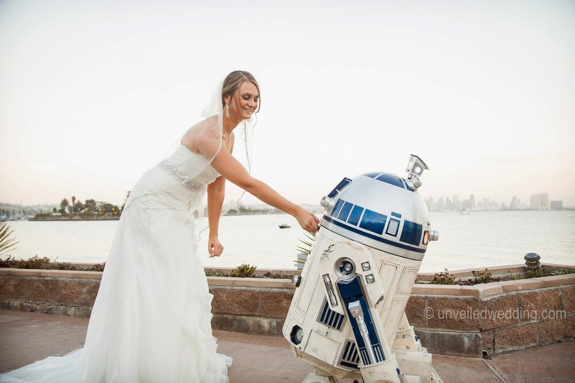 An Epic Star Wars-Themed Wedding | Star wars wedding, Themed ...
