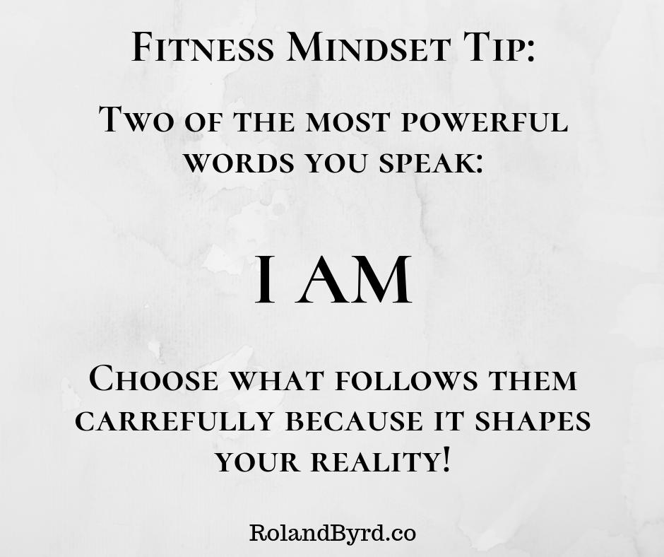 Fitness Mindset Tip I Am Fitness Fitness Body Fitness Coach