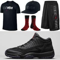 Jordan Retro 11 Clothing to Match the