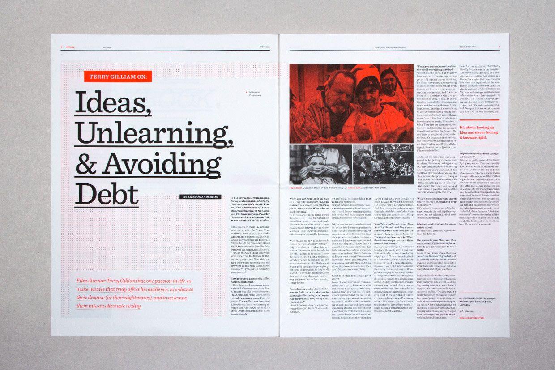 Editorial Design Inspiration: 99U Magazine | magazine ...