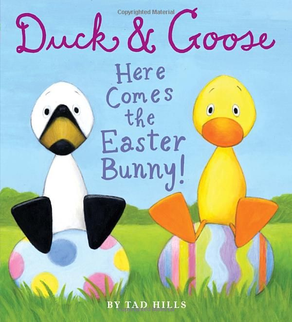 Amazon duck goose here comes the easter bunny duck goose here comes the easter bunny by tad hills duck goose are back new york times bestselling author and illustrator tad hills brings our favor negle Gallery
