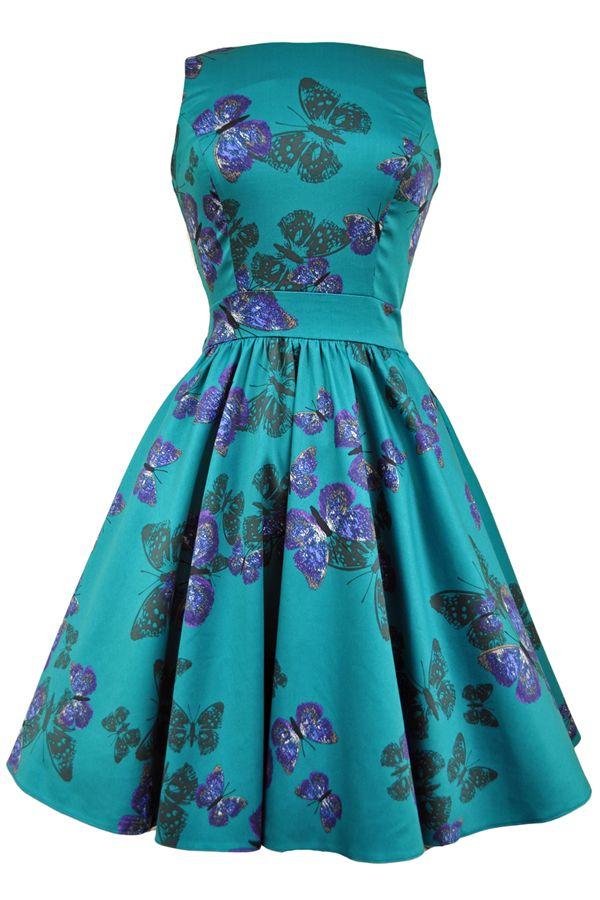 Vintage 50s style cocktail dresses