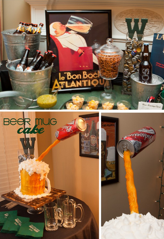 Fab friday finds 3 party ideas for the men in our lives for 30th birthday party decoration ideas for men