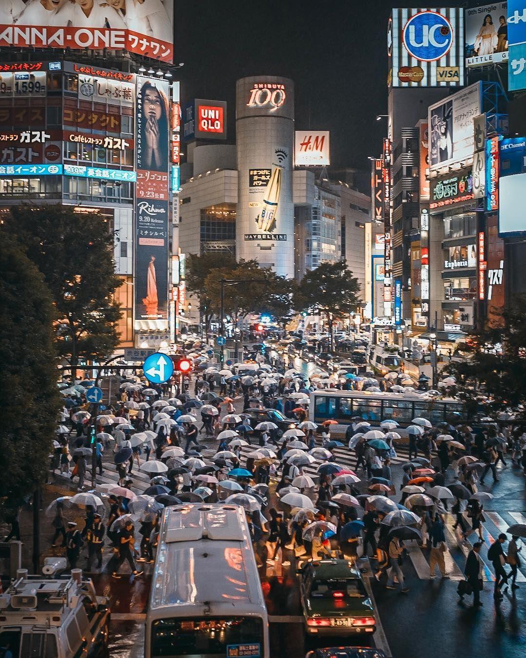 Shibuya crossing Tokyo Likes Comments Tat deepsky