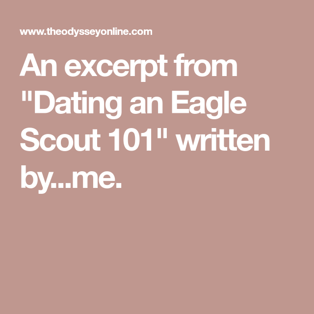 Scout dating