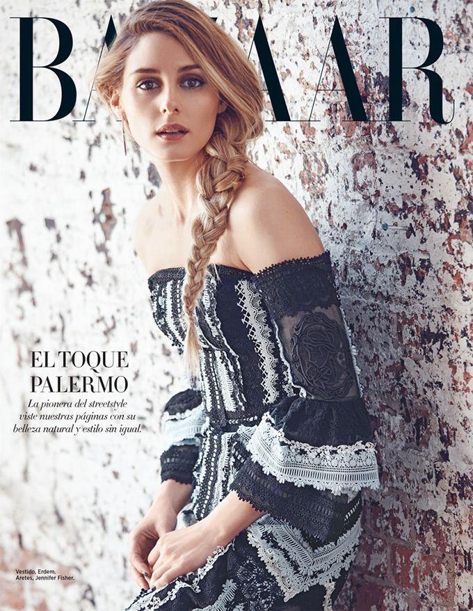 2019 год - Оливия Палермо на обложке Harper's Bazaar Mexcio