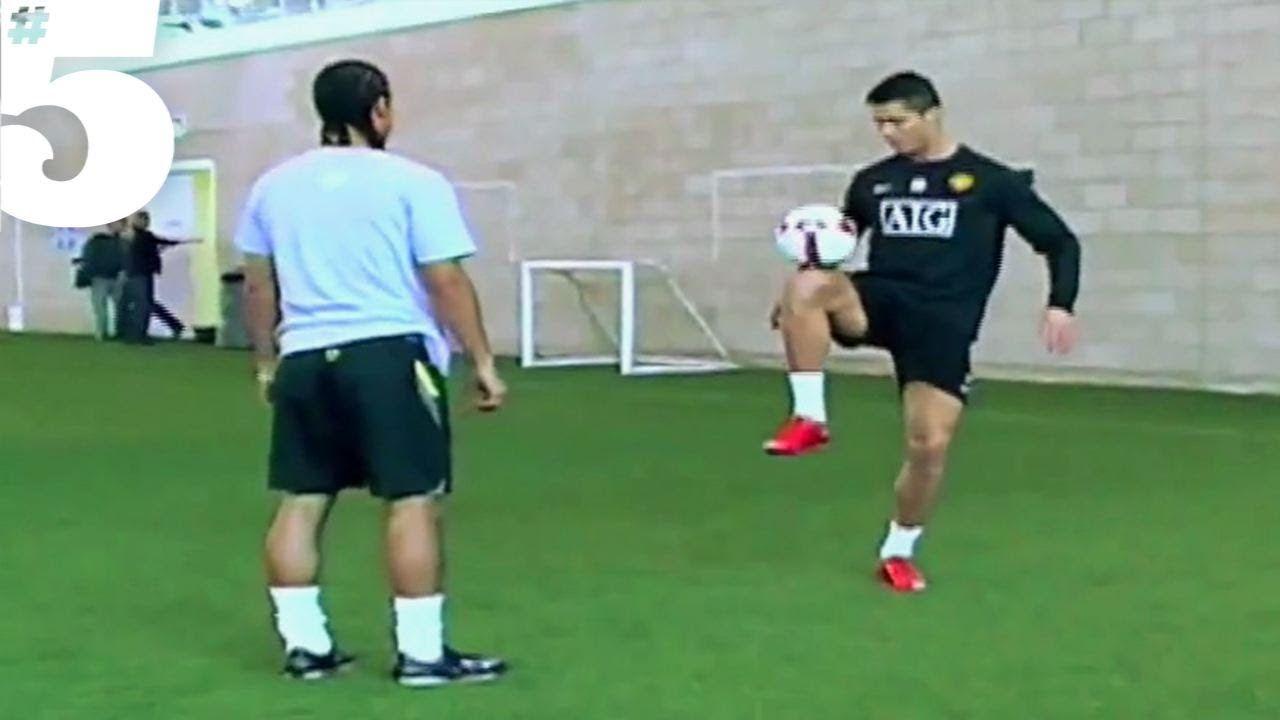 Cristiano Ronaldo Amazing Freestyle Football Skills 5 Silks