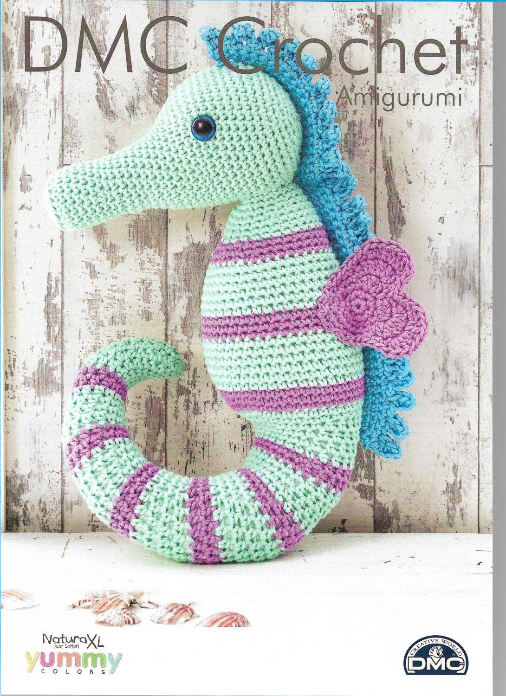 Crochet Seahorse Pattern only Natura XL Yarn | Pinterest | Marino ...