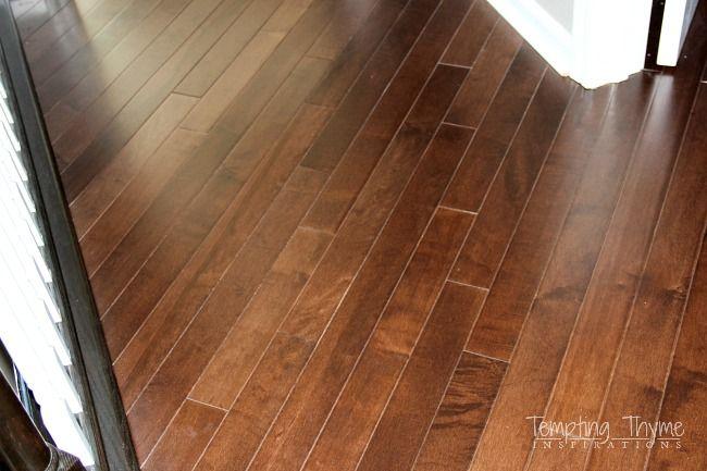 Mullican Maple Hardwood Floors Diy Pinterest Staircases