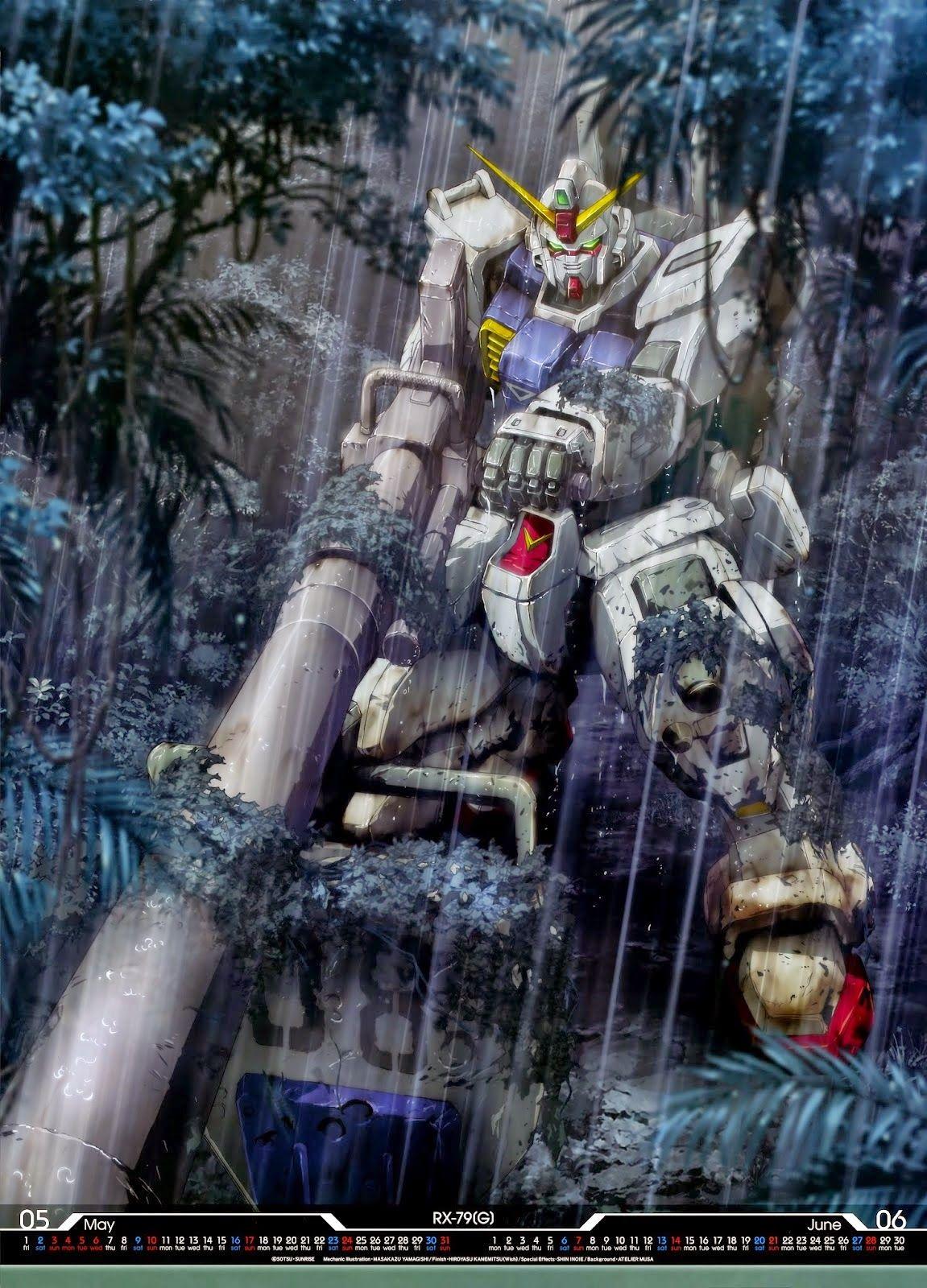 GUNDAM GUY Mobile Suit Gundam 2015 Calender Image