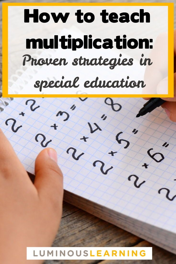 How to teach multiplication facts: proven strategi