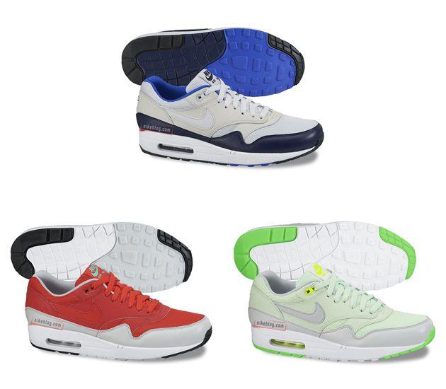 Nike Air Max 1 Leather Mudguard Wiosna 2015 Ilustracje Cheap Nike Air Max Nike Air Max Nike Shoes Women