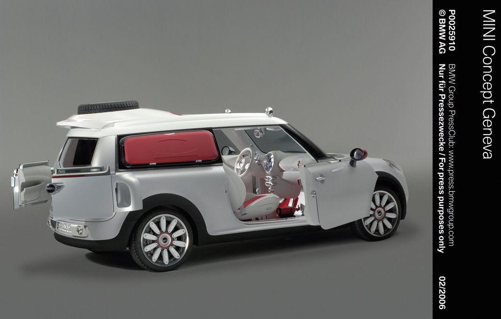 20052006 Mini Clubman Concept Frankfurt Tokyo Detroit Geneva