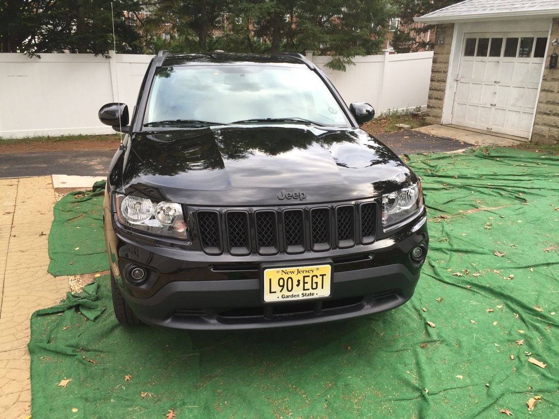Plastidipped jeep compass